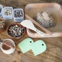 Sandboxing with polymeric sand