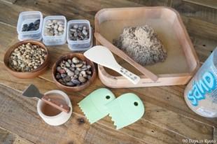 Polymeric sand - the setup