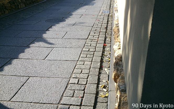 Day 4 - Sweeping Entoku-in dori in Kyoto 90 days Jenny Feuerpeil 2