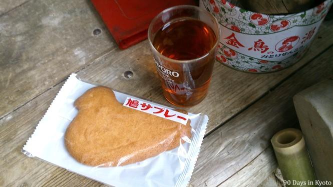 Hatto Sabure-  the famous cookie from Kamakura