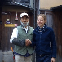 Day 32 - Saying goodbye to our head gardener in Kyoto