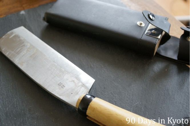 The nata hachet and sheath